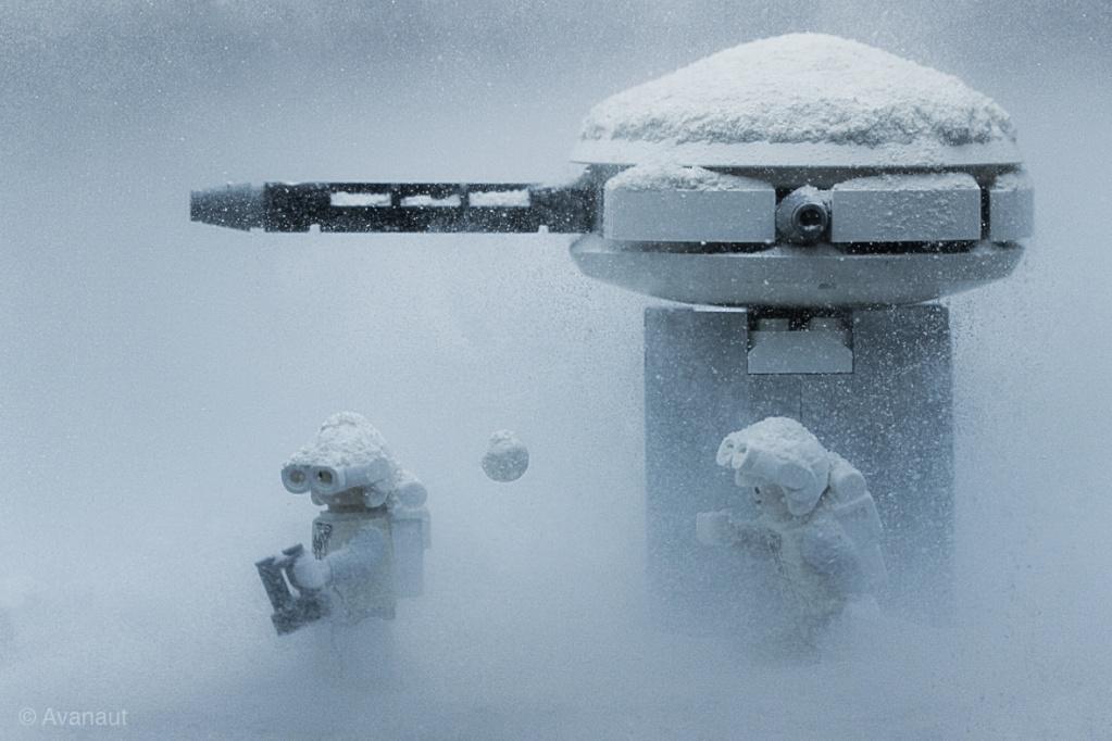 Nos Minifig starwars misent en scène Lego-s10