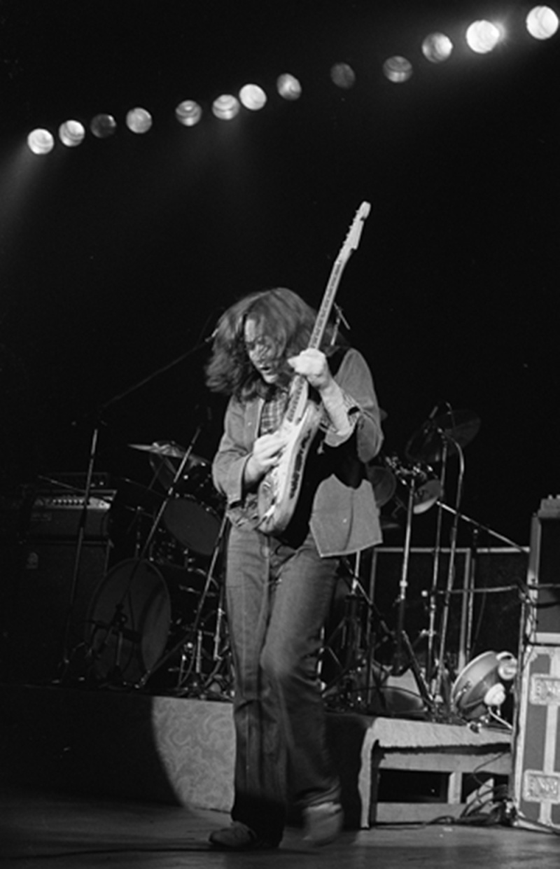 Rory Gallagher at Theatre St. Denis in Montreal, circa 1978  Rory_g12