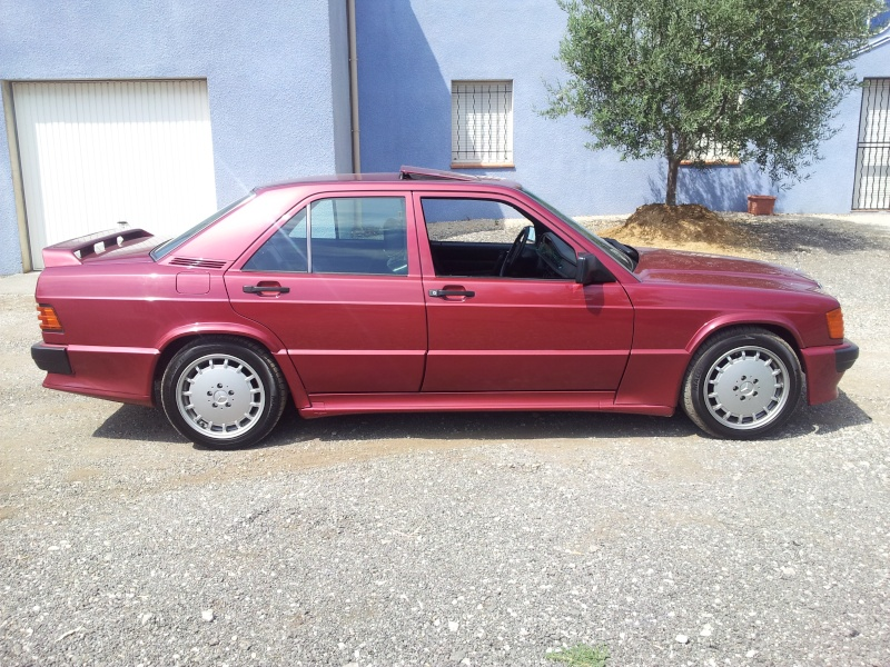 Mercedes 190 1.8 BVA, mon nouveau dailly - Page 10 20120835
