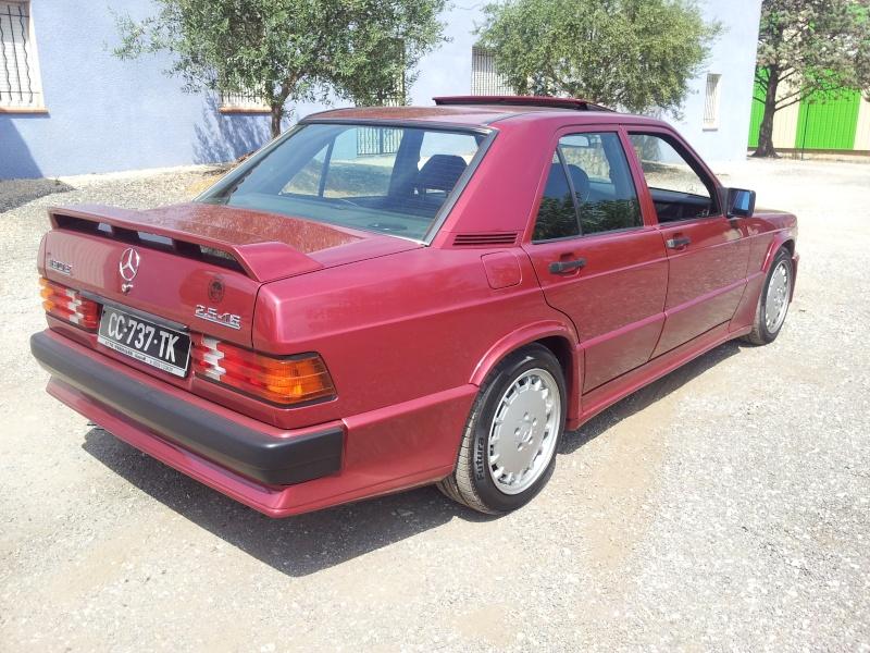 Mercedes 190 1.8 BVA, mon nouveau dailly - Page 10 20120836
