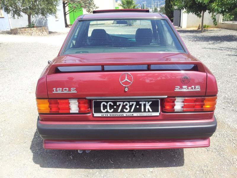 Mercedes 190 1.8 BVA, mon nouveau dailly - Page 10 20120837