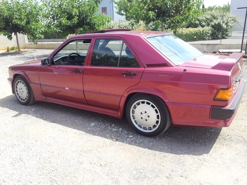 Mercedes 190 1.8 BVA, mon nouveau dailly - Page 10 20120839