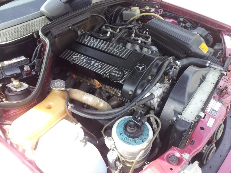 Mercedes 190 1.8 BVA, mon nouveau dailly - Page 10 20120841