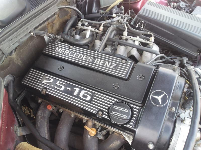 Mercedes 190 1.8 BVA, mon nouveau dailly - Page 10 20120842