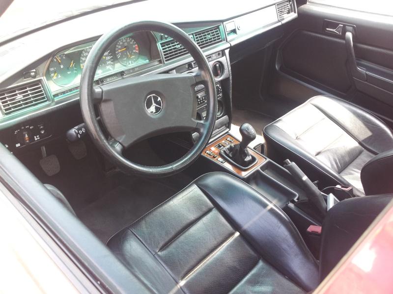 Mercedes 190 1.8 BVA, mon nouveau dailly - Page 10 20120843