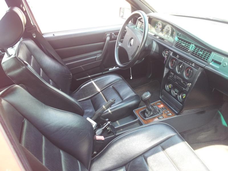 Mercedes 190 1.8 BVA, mon nouveau dailly - Page 10 20120844