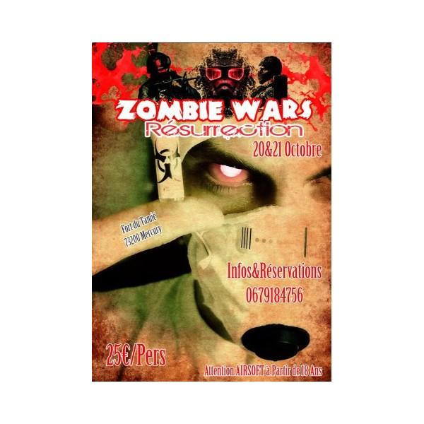 OP ZOMBIE WAR 2 fort de tamié 20/21 octobre 2012 Zombie11