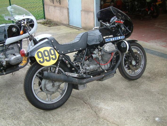 Gus Kuhn Racer Guzzi210