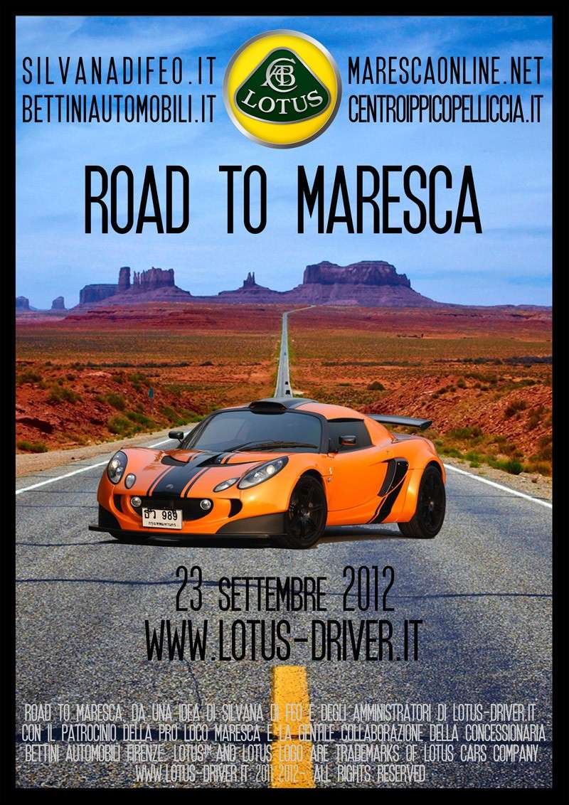 23 SETTEMBRE 2012 - ROAD TO MARESCA  Flyer_12