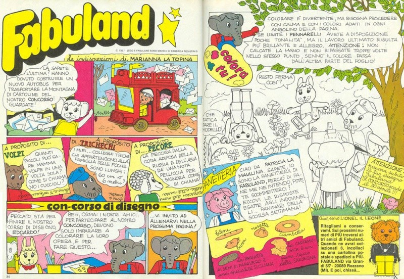 Fabuland (LEGO) - 1979-1989 Fabula22