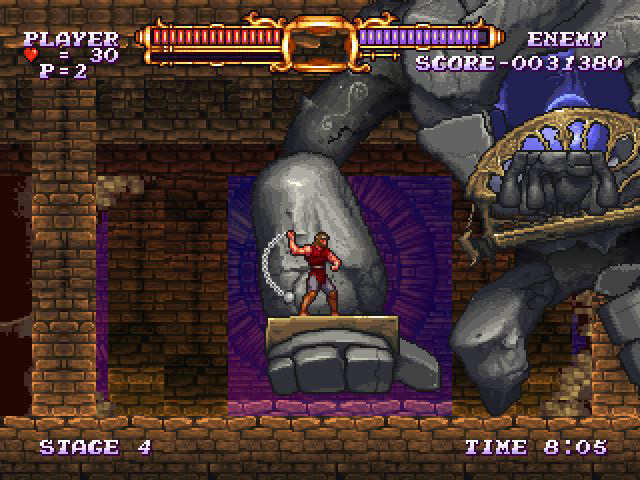 Review: Castlevania Rebirth (WiiWare) Castle11