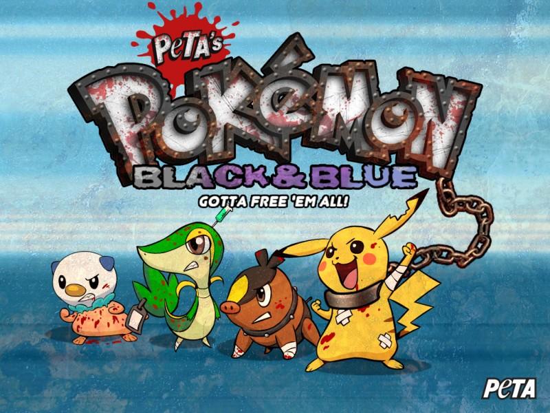 PETA Creates An Anti-Pokemon Black And White 2 Campaign! Large11