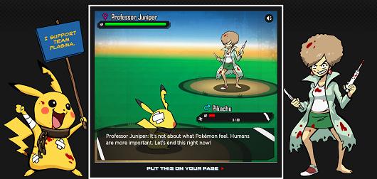 PETA Creates An Anti-Pokemon Black And White 2 Campaign! Peta10