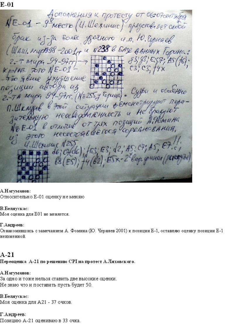 1-й личный чемпионат мира по проблемам в русские шашки  (64-PWCP-I) Ddo64-18