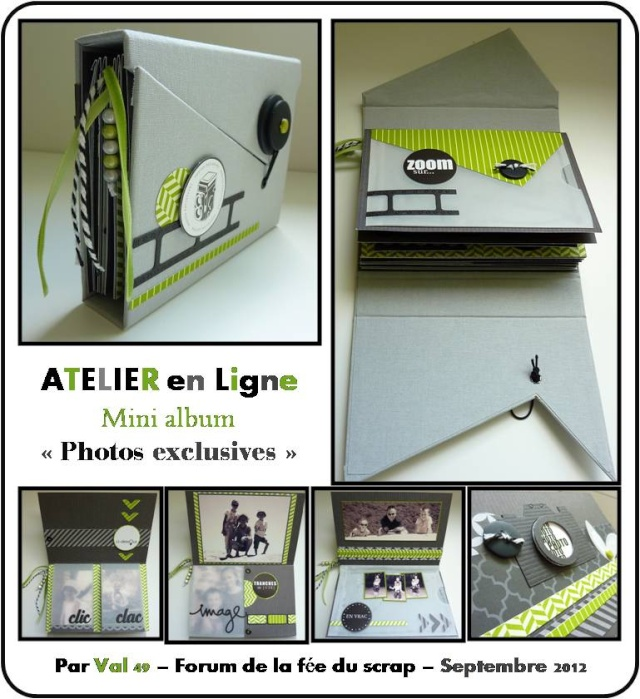 """Photos exclusives"" mini-album - visuel /photos Aperau12"