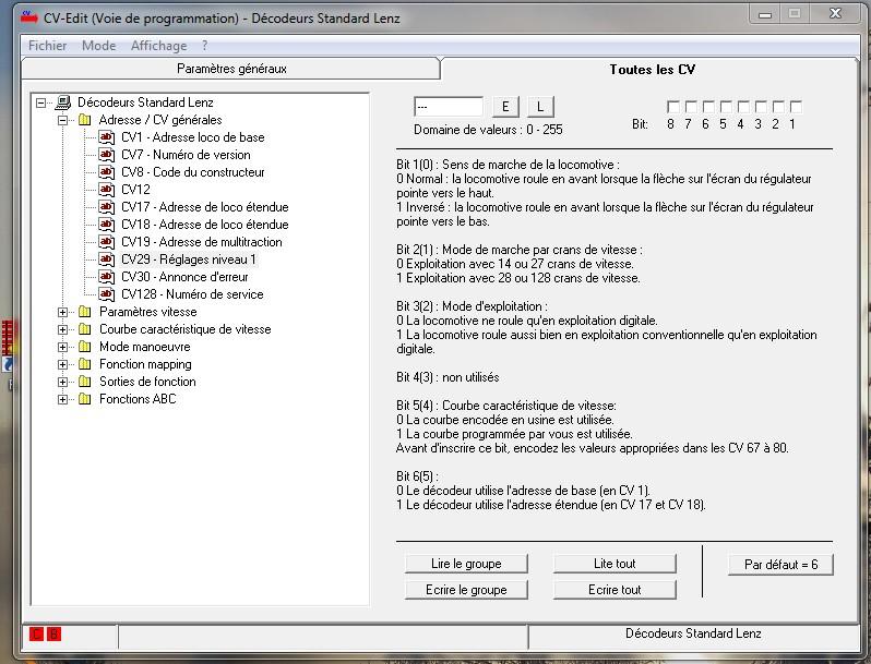 Upgrade LZV 100 Lenzcv11