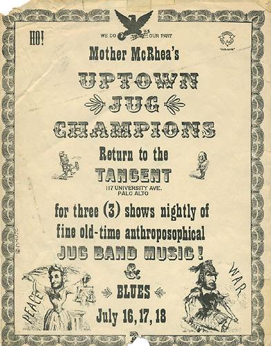 Grateful Dead - Affiches 19640710