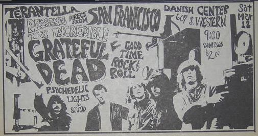 Grateful Dead - Affiches - Page 2 19660310