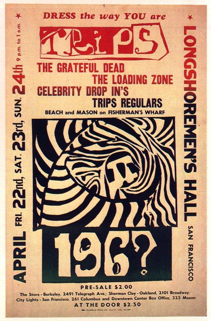 Grateful Dead - Affiches - Page 2 19660410
