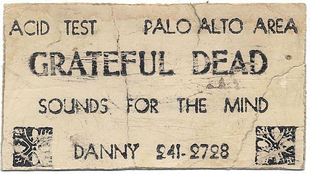 Grateful Dead - Affiches 1966ri10