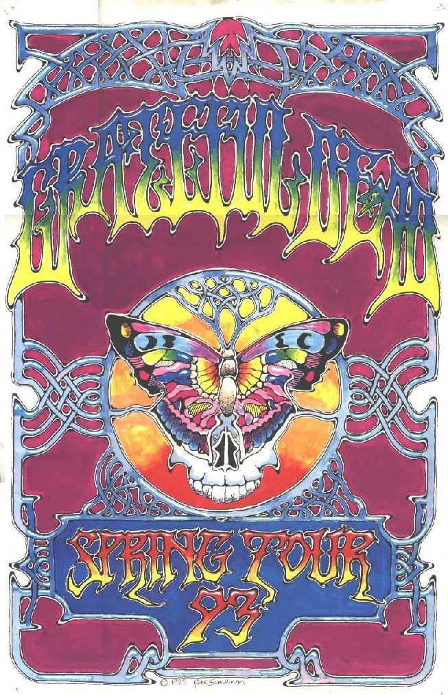 Grateful Dead - Affiches 1993sp10