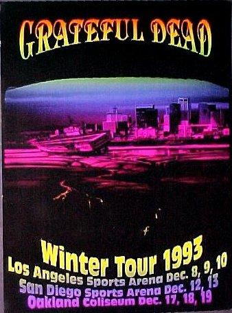 Grateful Dead - Affiches 1993wi11