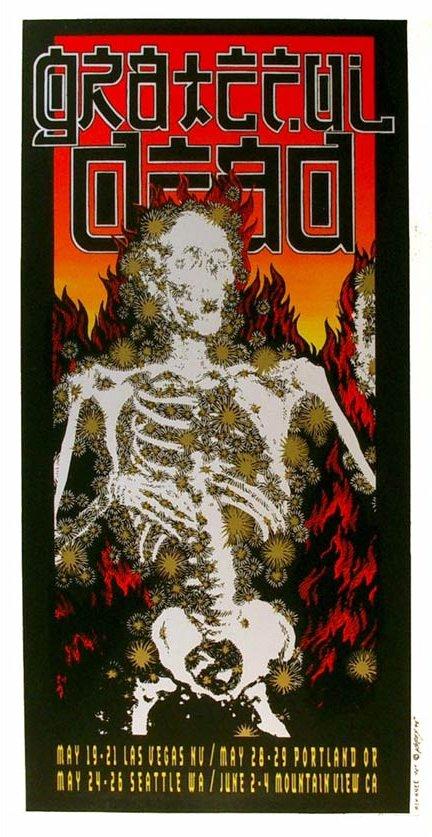Grateful Dead - Affiches 1995sp10