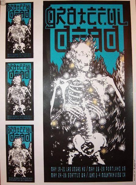 Grateful Dead - Affiches 1995sp11