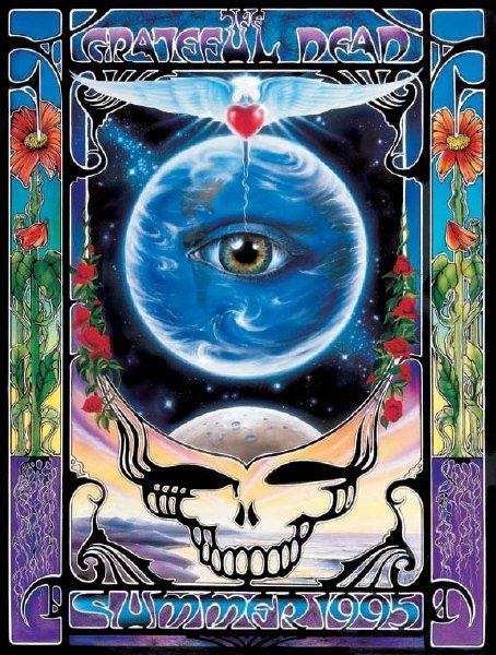 Grateful Dead - Affiches 1995su11