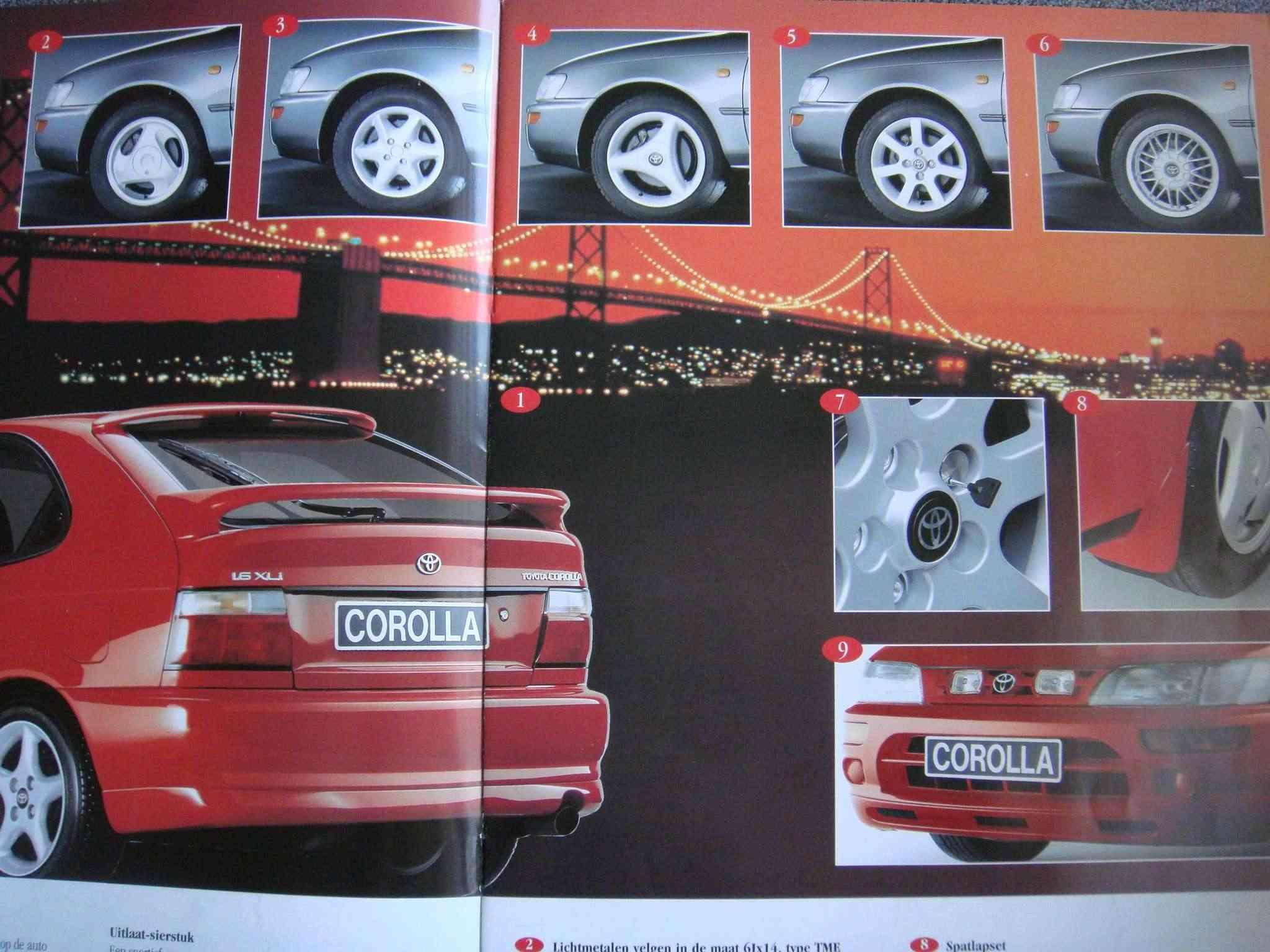 Corolla E10 Hella frontgrill Dsc03511