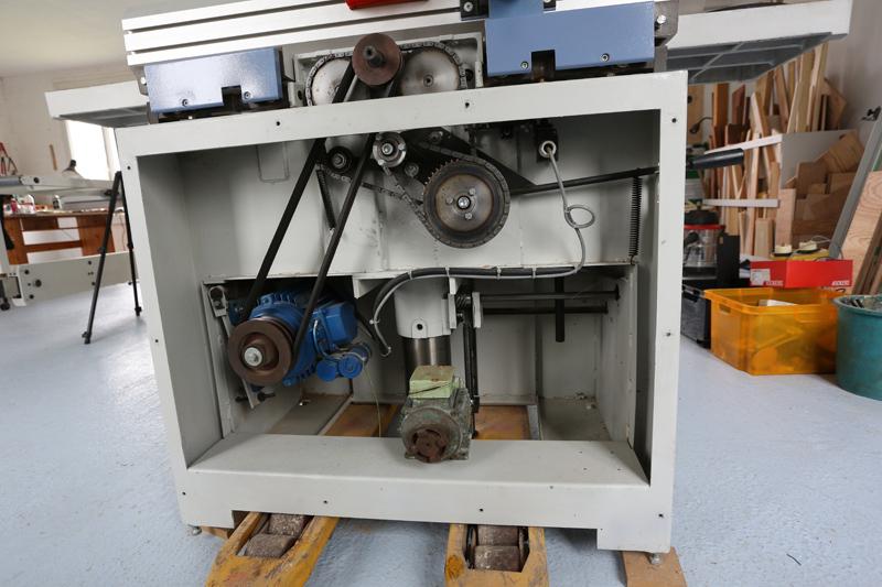 amélioration R D - Motorisation table raboteuse (voir p.13) et amélioration R/D Holztech FS320 (première partie)  14_mai11