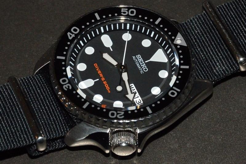 Un nouveau bracelet pour ma skx007 Seiko-10
