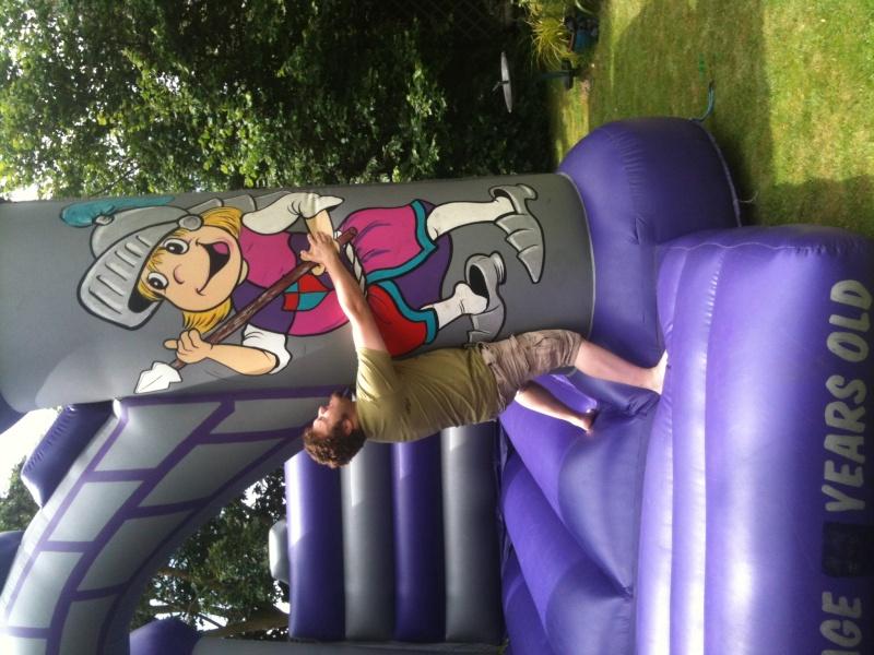 the Bouncy castle strikes again.... Photo-12