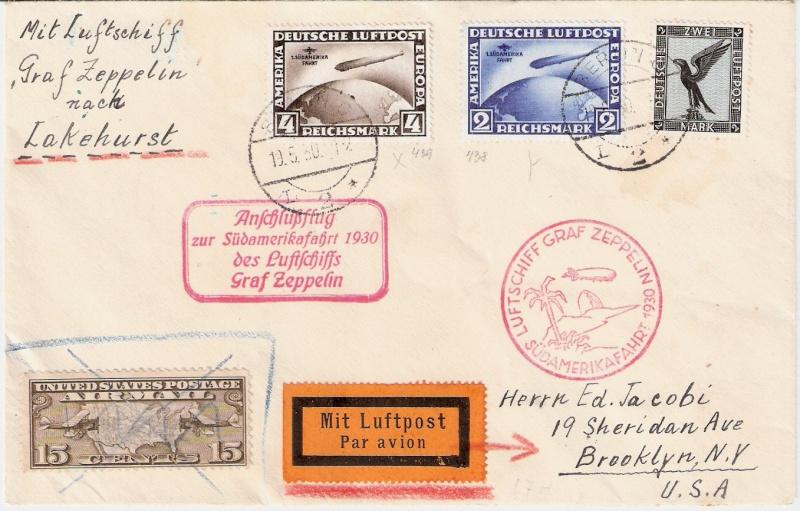 nach - Südamerikafahrt 1930, Post nach Lakehurst - Seite 2 Scanne12
