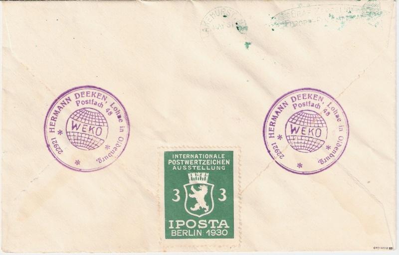 Südamerikafahrt 1930, Post nach Lakehurst - Seite 2 Scanne13