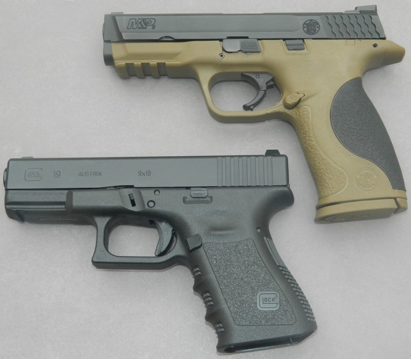 Smith& Wesson M&P 9 Flat dark Earth Carry and range Kit 1811