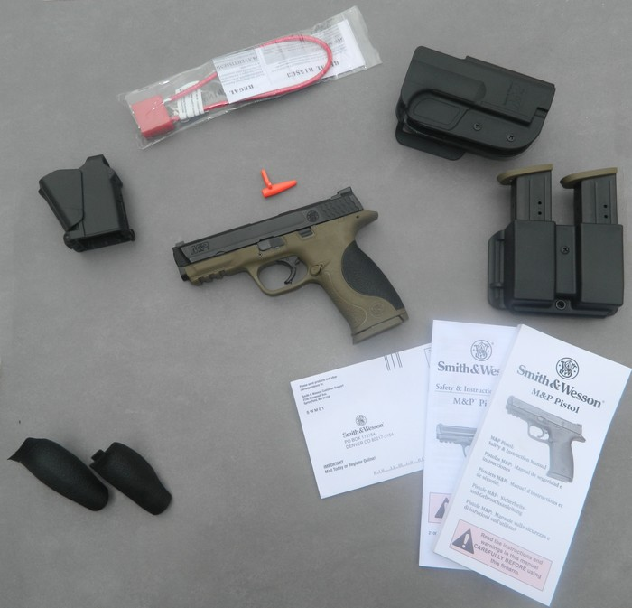 Smith& Wesson M&P 9 Flat dark Earth Carry and range Kit 511