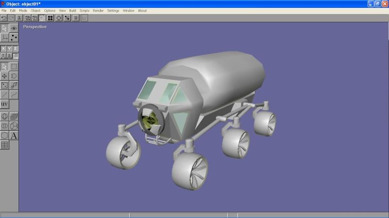 Habitat lunare gonfiabile Artemis - Sviluppo Rover_10