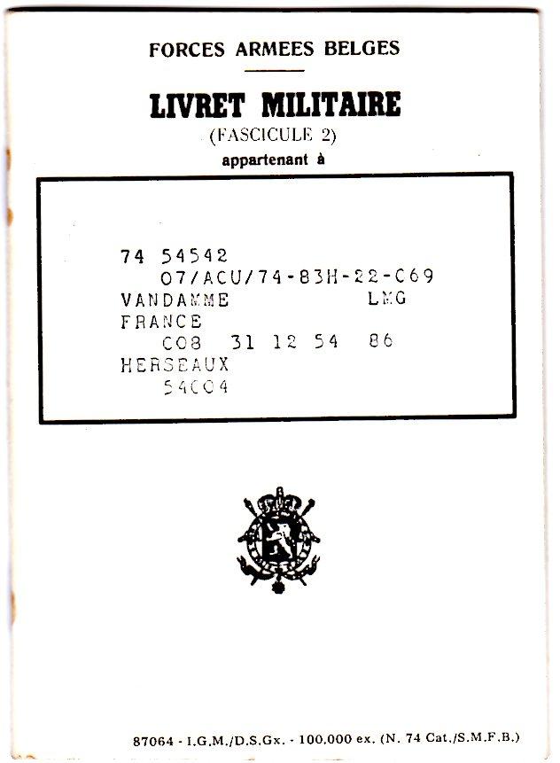 le Livret Militaire Godeti11