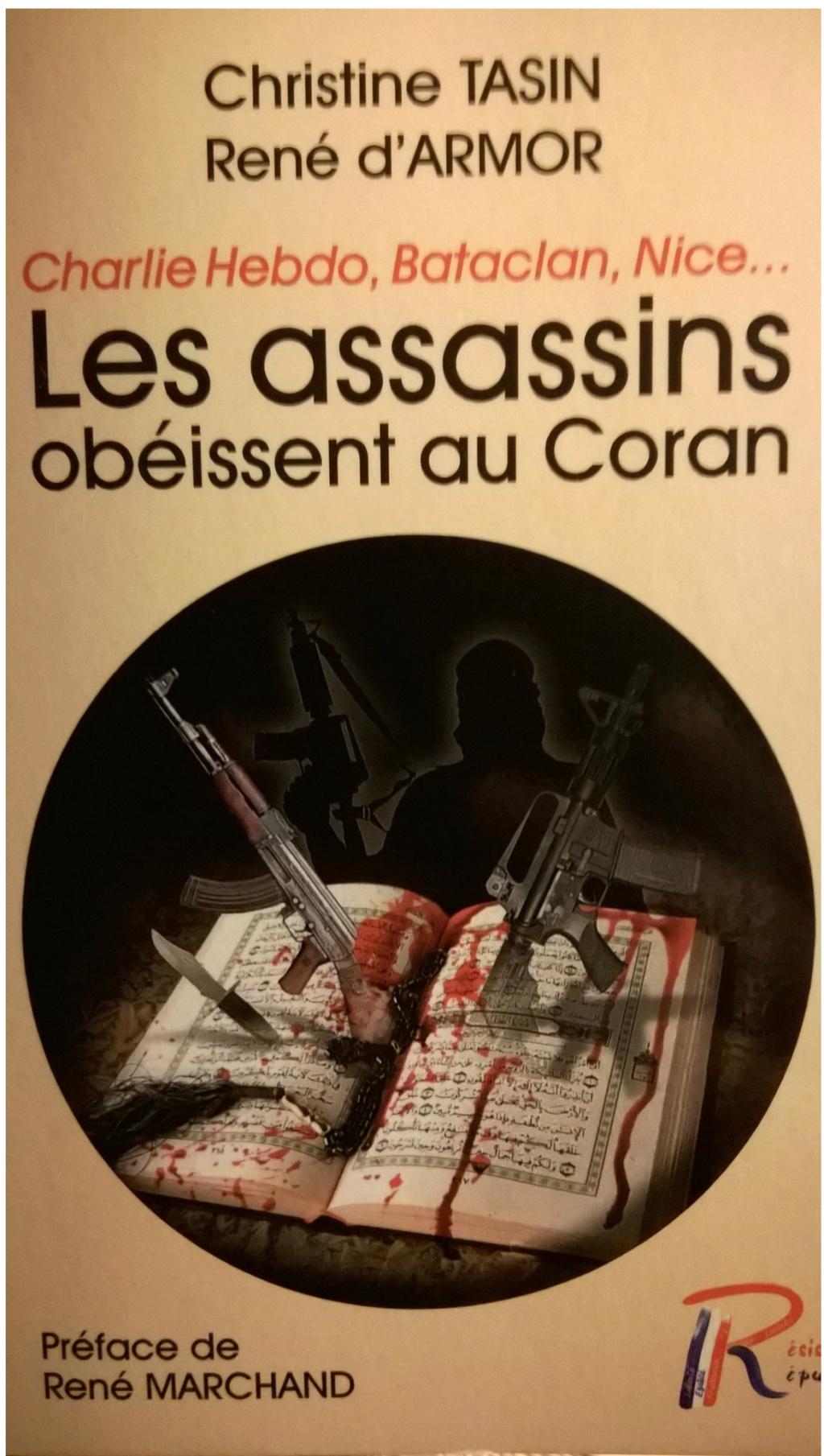 Les assassins obéissent au coran ( Christine Tasin professeur agrégé )  Li110