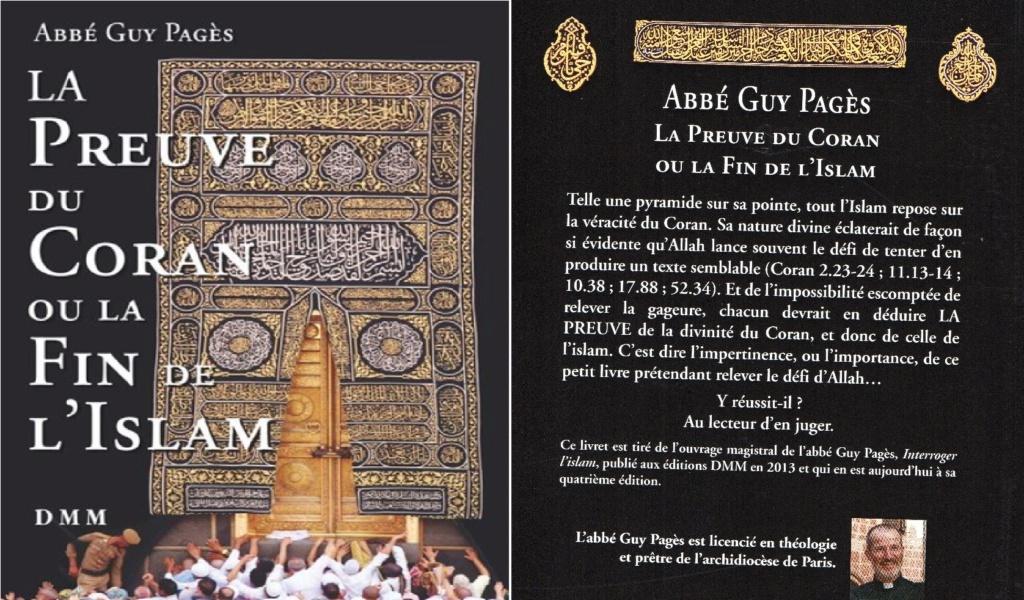 La Preuve du Coran et la fin de l´islam. 13 euros  Livre_19