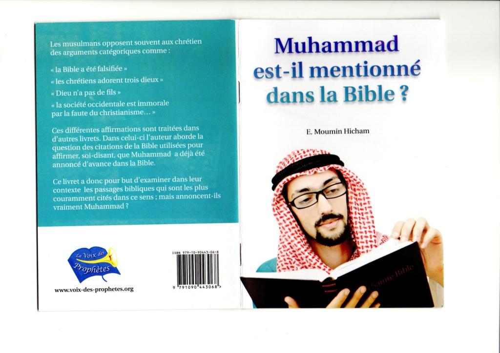 Mahomet est il annoncé dans la Sainte Bible ?  Mah10010