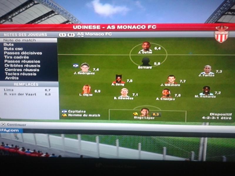 Udinese 0-1 Monaco Lphon180