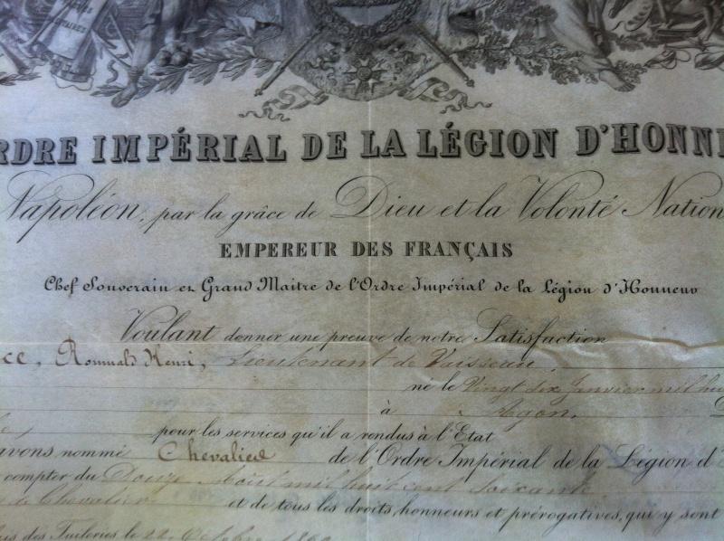Diplôme legion d'honneur 1860 Img_0036