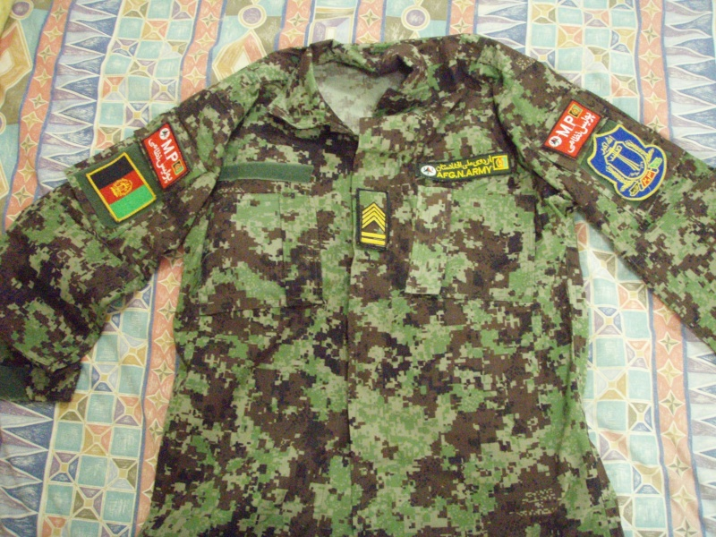 Afghanistan Army/police uniforms Aug_ca10