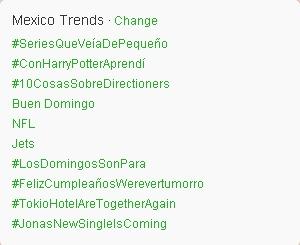 "[INFO] Tokio Hotel en ""trending topic"" sur Twitter !  - Page 3 Mexico10"