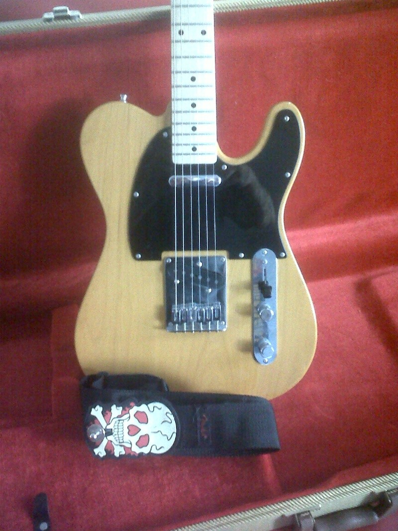 Squier Telecaster Affinity + micro Nocaster Img00911