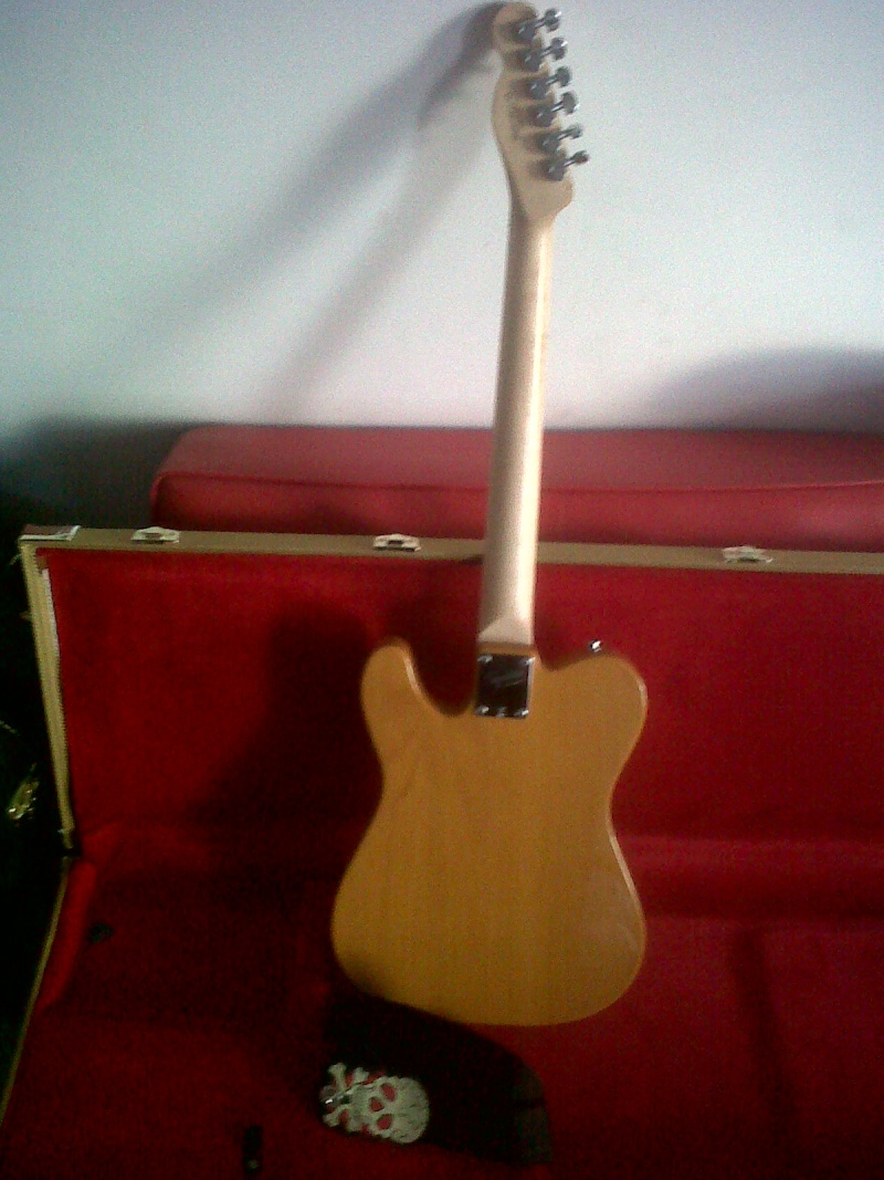 Squier Telecaster Affinity + micro Nocaster Img00913