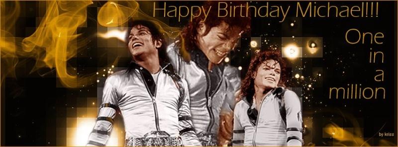 Happy Birthday dear Michael! 29763510