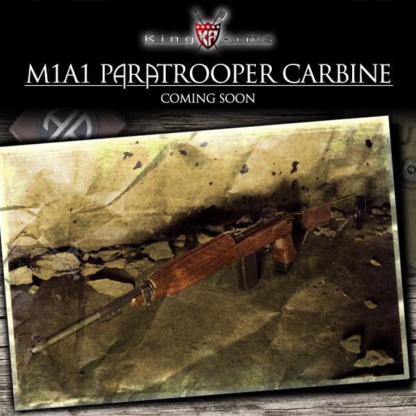 M1A1 Paratrooper Carbine de King Arms Webann10